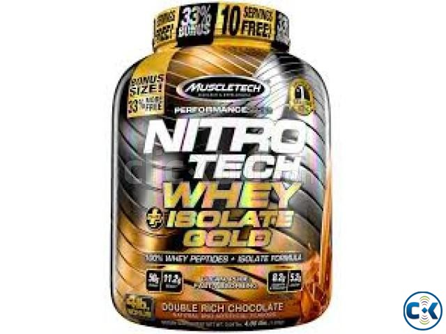 NitroTech Whey Plus Isolate Gold-4Lbs in Bangladesh | ClickBD large image 0