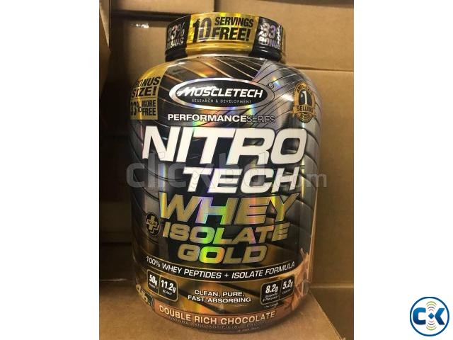 NitroTech Whey Plus Isolate Gold-4Lbs in Bangladesh | ClickBD large image 1