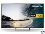 75 X8500E Sony Bravia 4K HDR Android Tv