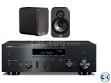 Yamaha R-N602 Q Acoustics 3020 Bookshelf Speakers