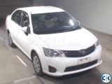 Toyota Axio x White 2013