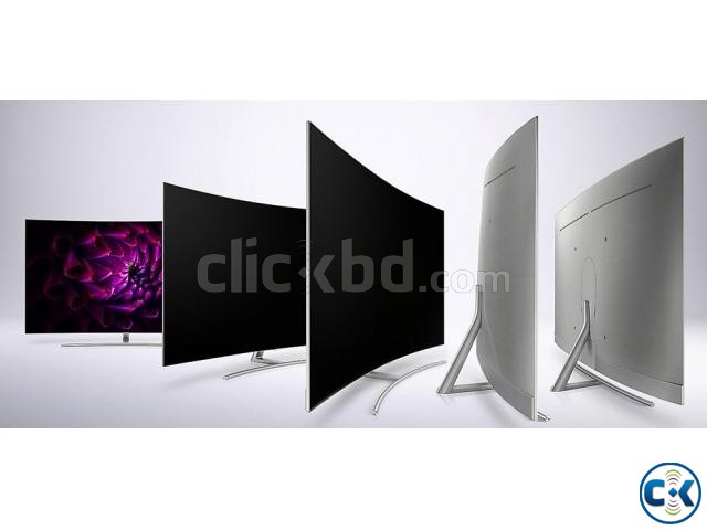 Original Curved QLED 4K Smart 65 Q8C | ClickBD large image 1