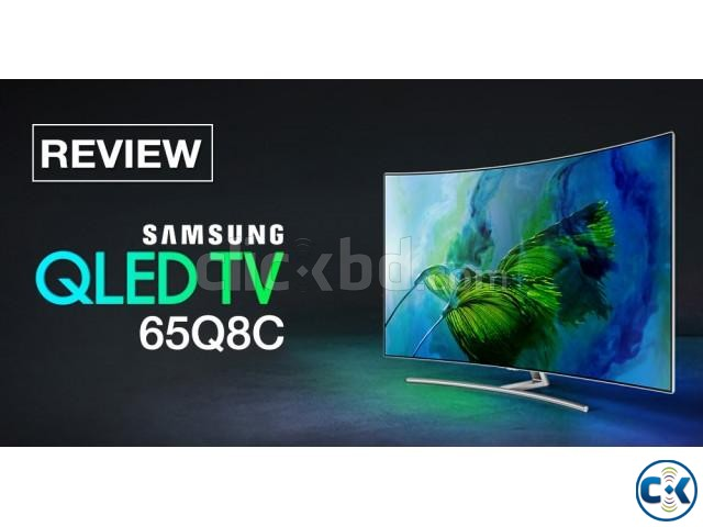 Original Curved QLED 4K Smart 65 Q8C | ClickBD large image 2