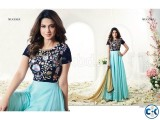 embroidery georgette Floor Length Anarkali Suit jenifar 024