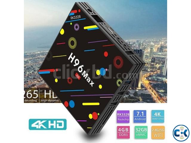 H96 MAX H1 Quad Core 4GB 32GB Android 7.1 TV Box | ClickBD large image 1
