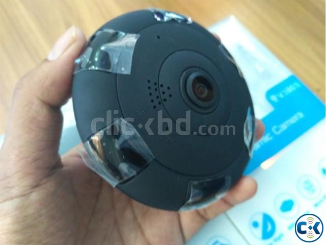 360 WiFi IP Panoramic 2 MP Camera | ClickBD large image 0