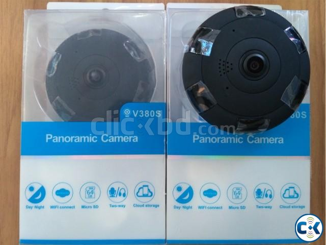 360 WiFi IP Panoramic 2 MP Camera | ClickBD large image 1