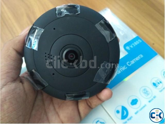 360 WiFi IP Panoramic 2 MP Camera | ClickBD large image 2