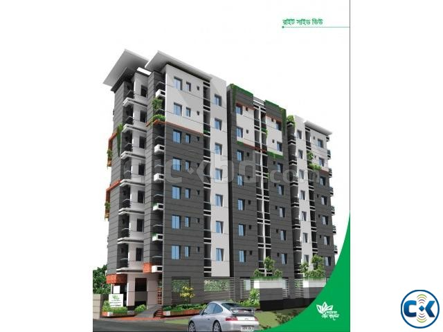 1080 Sft 3 Bed Flat For Sell In Kajipara Bus Stand Mirpur 10 | ClickBD large image 1