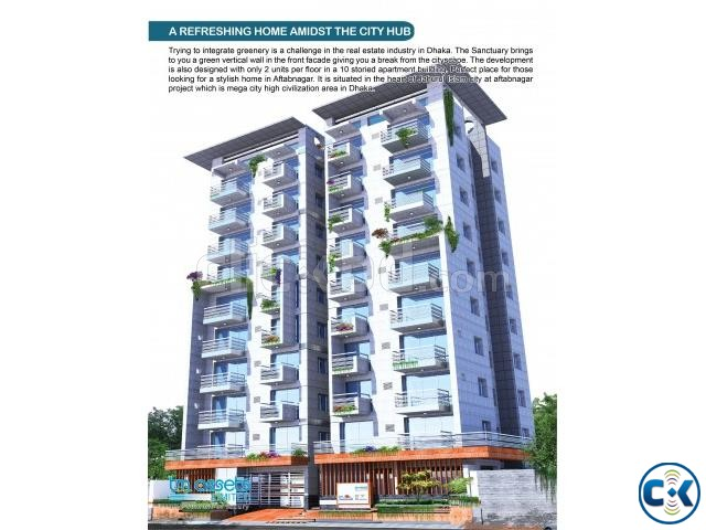 1350 Sft 3 Bed Flat For Sell Aftabnagar | ClickBD large image 0