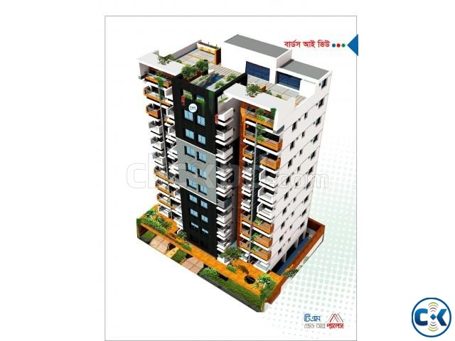 1830 Sft 4 Bed Flat For Sell Bashundhara R A | ClickBD large image 3