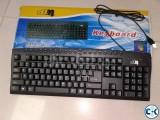 DBM PS2 Multimedia Keyboard