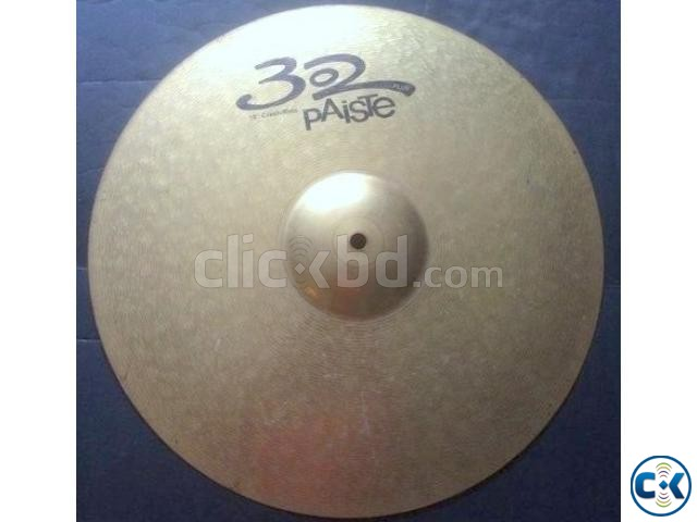 Paiste 302 Plus 18 Crash Cymbal | ClickBD large image 0