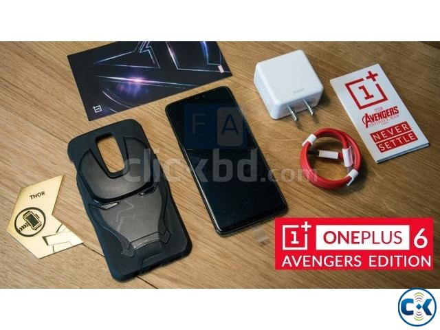 Brand New One Plus 6 256GB Avengers Edition Sealed Pack | ClickBD large image 3
