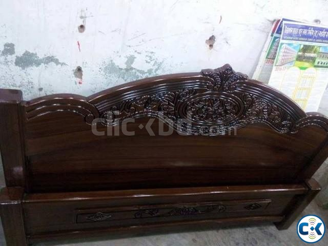 Double bed 5 feet by 7 feet   ClickBD large image 1