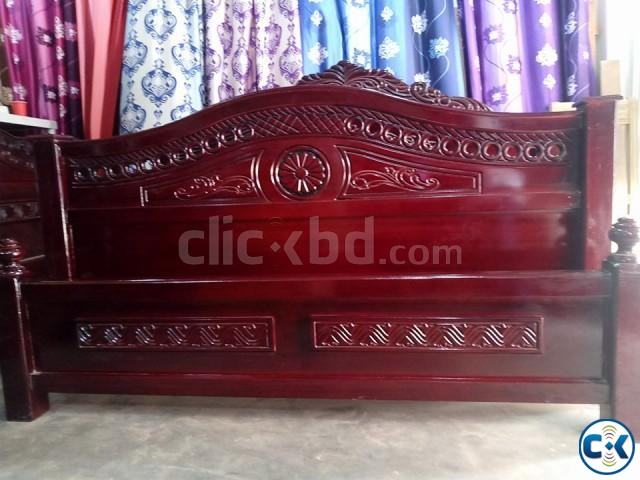 Double bed 6 feet by 7 feet | ClickBD large image 0