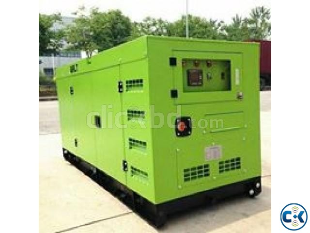 30 KVA 24 KW Canopy type Diesel generator for sale | ClickBD large image 0