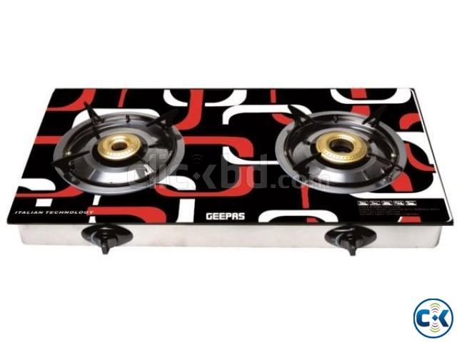 Geepas 2 Burner Gas Stove Model GK6758 | ClickBD large image 0