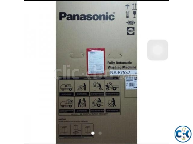 Panasonic Top Loading Washing Machine Washer NA-F75S7 | ClickBD large image 1