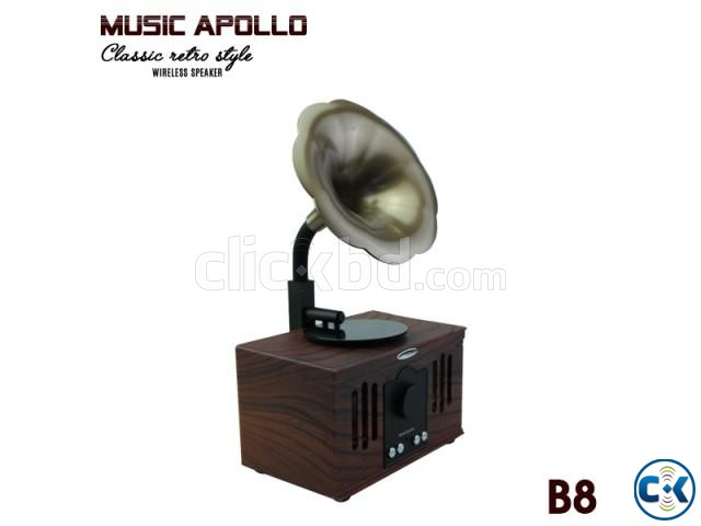 MUSIC APOLLO B8 Wireless Speaker BEST PRICE IN BD | ClickBD large image 0