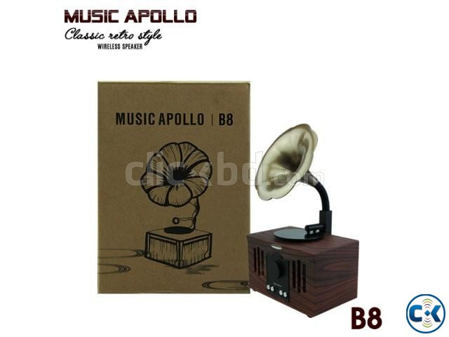 MUSIC APOLLO B8 Wireless Speaker BEST PRICE IN BD | ClickBD large image 1