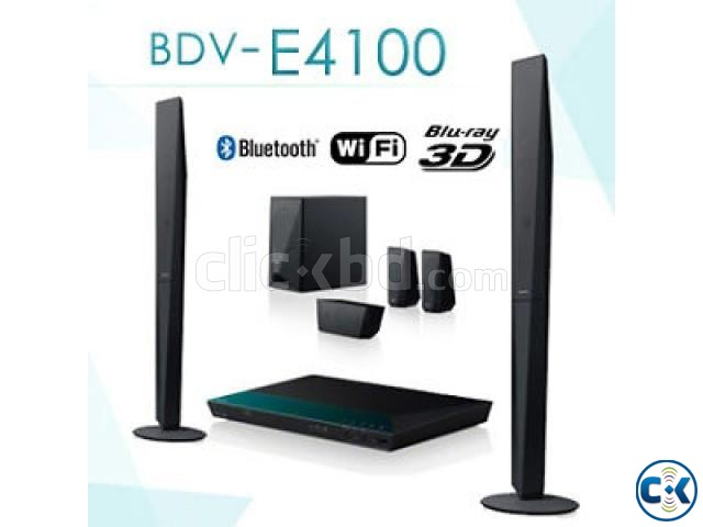 Sony BDV-E4100 Blu-Ray 3D Home Theater | ClickBD large image 0