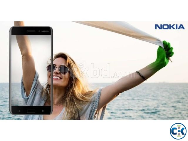 Brand New Nokia 6 4 64GB Sealed Pack With 3 Year Warranty | ClickBD large image 1