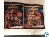 Avengers Infinity War 4K UHD New 4K TV