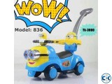 Brand New Minion Baby Push Car.