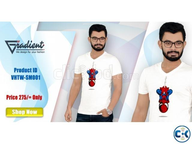 T- shirt code VHTW-SM001 | ClickBD large image 0