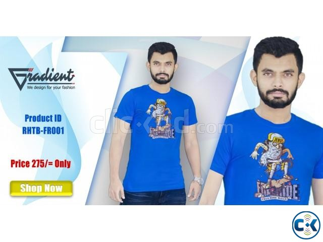 T- shirt code RHTB-FR001 | ClickBD large image 0