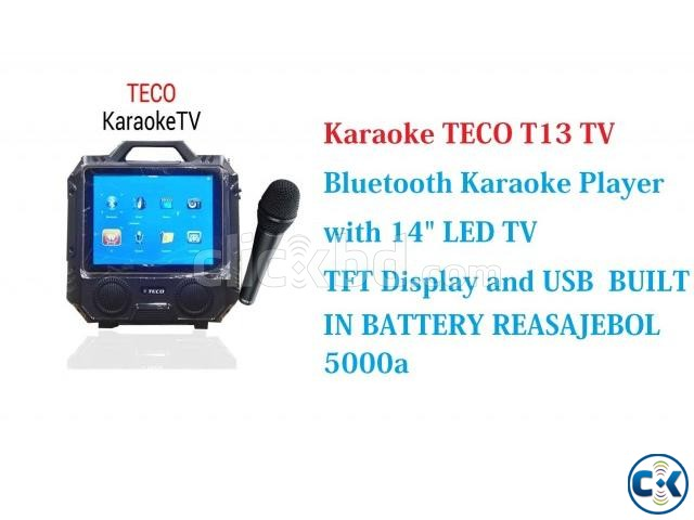 Karaoke TECO T13 14 TV Bluetooth LED TV | ClickBD large image 3