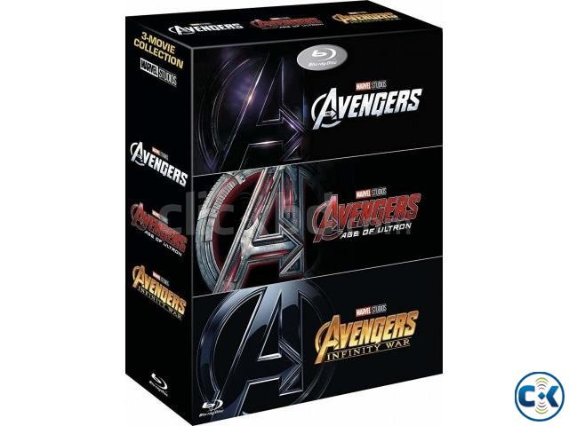Avengers 4k trilogy blu ray 3 4k Discs  | ClickBD large image 0