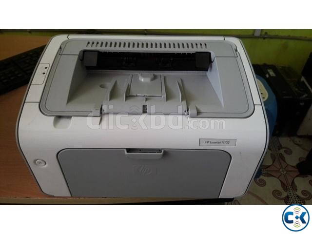 Hp Laser jet printer P1102 | ClickBD large image 0