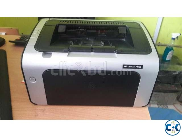 Hp Laser jet printer P1108 | ClickBD large image 0