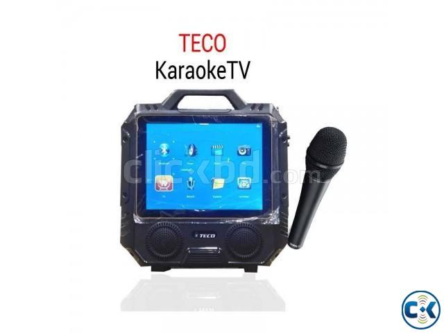 14 Karaoke TECO T13 LED TV Bluetooth Karaoke Player   ClickBD large image 0