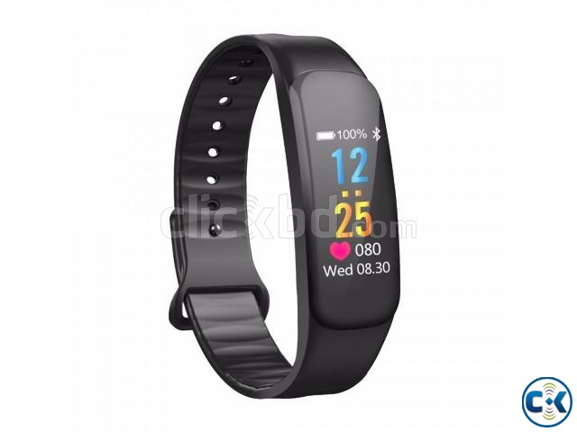 C1 Plus Smart Band Color Screen Blood Pressure Water-proof   ClickBD large image 2