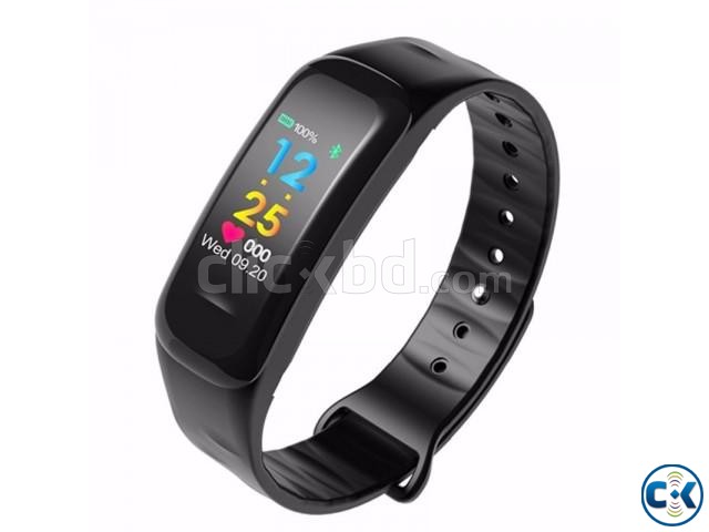 C1 Plus Smart Band Color Screen Blood Pressure Water-proof   ClickBD large image 3
