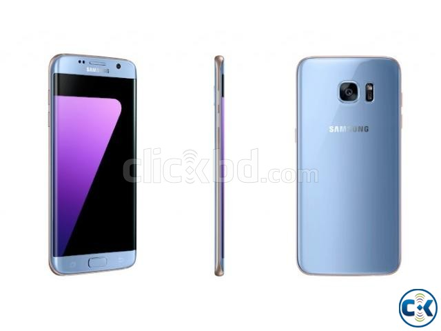 SAMSUNG GALAXY S7 EDGE BLUE COLOR BEST PRICE IN BD | ClickBD large image 0
