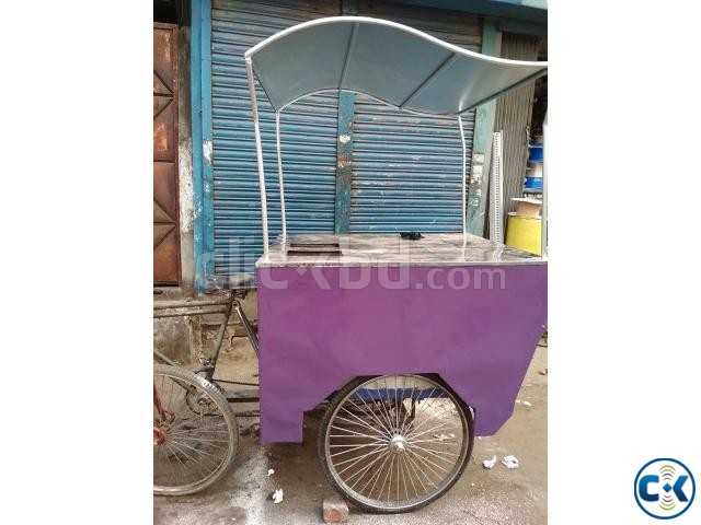 Food Cart Car for Sale Built in Ice Box - 1 Week Used  | ClickBD large image 0