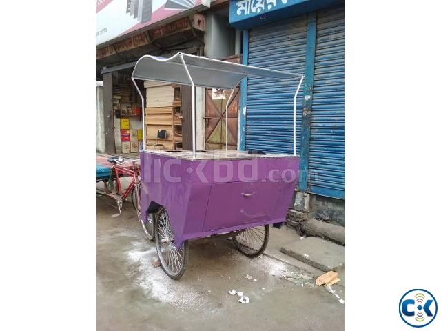 Food Cart Car for Sale Built in Ice Box - 1 Week Used  | ClickBD large image 1