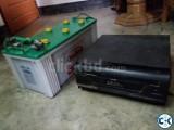 IPS 600 VA with battery Hamko165 A H