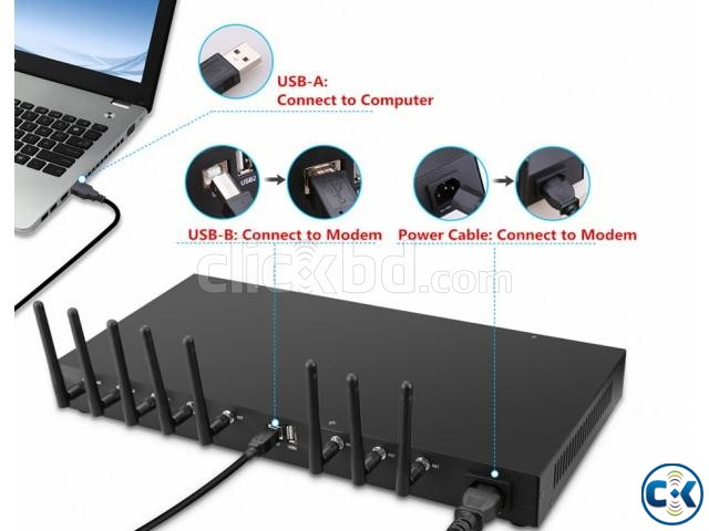 8 port Modem Available in Bangladesh | ClickBD large image 0