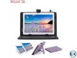 MediaTek Tablet pc 10inch Dual sim 1GB RAM Free lather Keybo