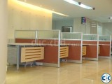 workstation and office furniture cubicle desk