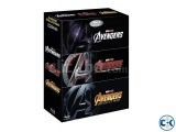 Avengers 4k trilogy blu ray 3 4k Discs ALL NEW soft