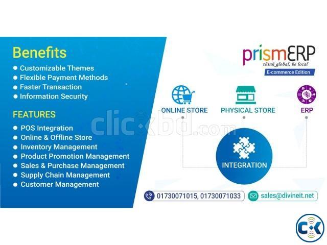 Best ERP Solution for E-commerce Online Business-PrismERP   ClickBD large image 0
