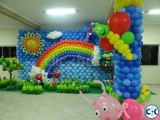 Balloons art for Birthday Party Decoration-Party Planner Bd