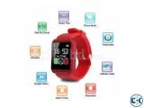 U8 Bluetooth Smart Watch Red