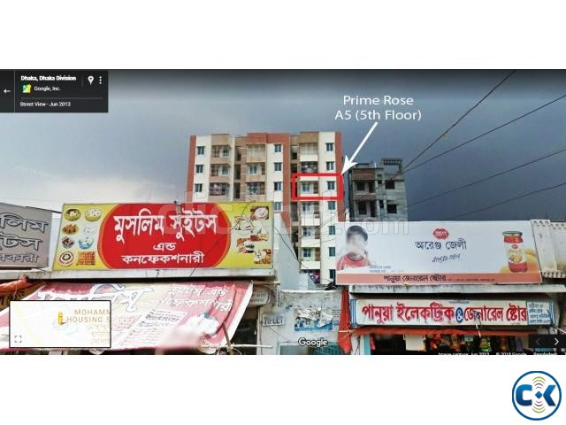 Flat for Rent Nobodoy Housing Mohammadpur | ClickBD large image 1